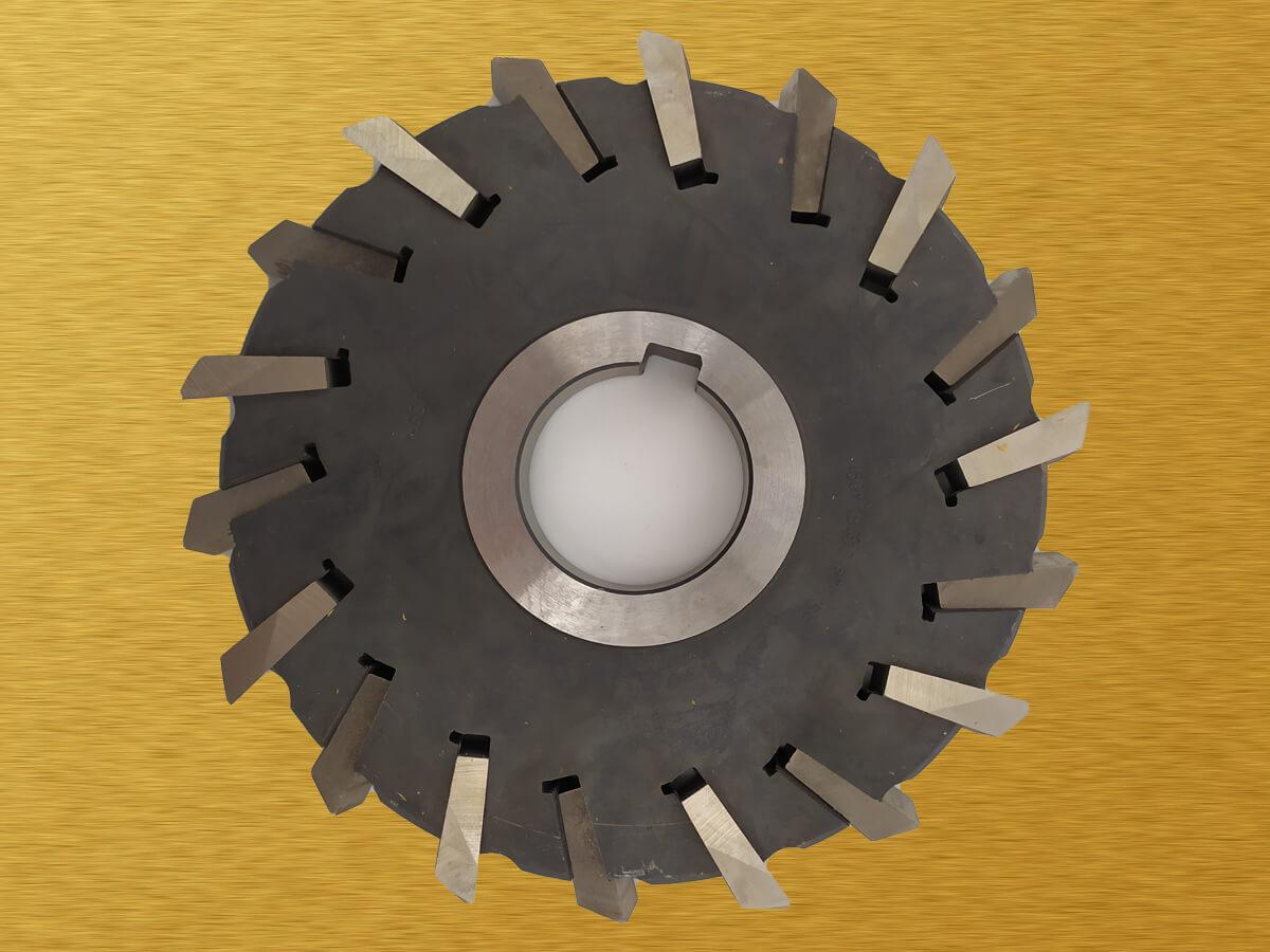 Фреза дисковая трехсторонняя со вставными ножами