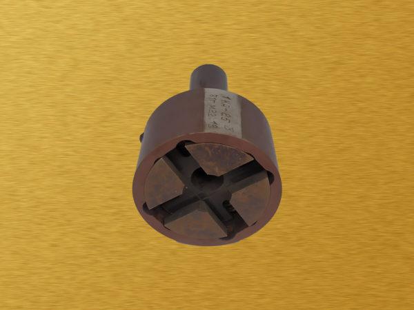 Головка винторезная самооткрывающаяся с круглыми гребенками